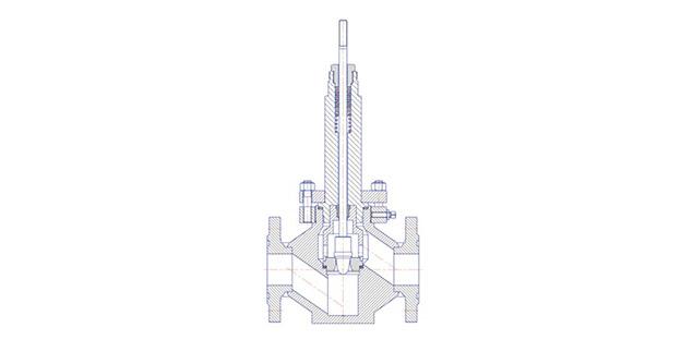 Высокотемпературное исполнение клапанов НХА